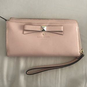 Kate Spade patent leather wallet/clutch